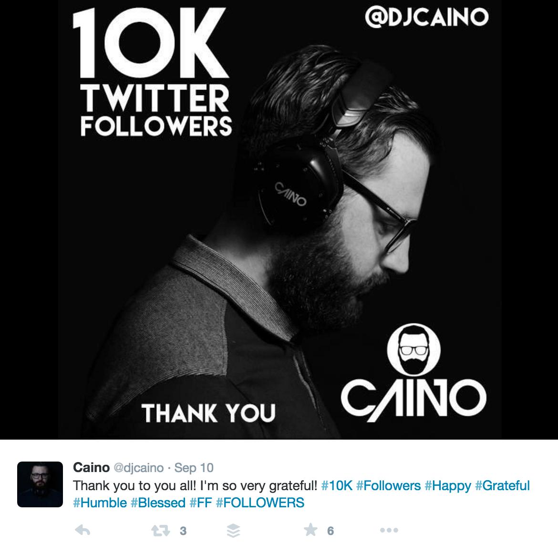 celebrating 10k followers