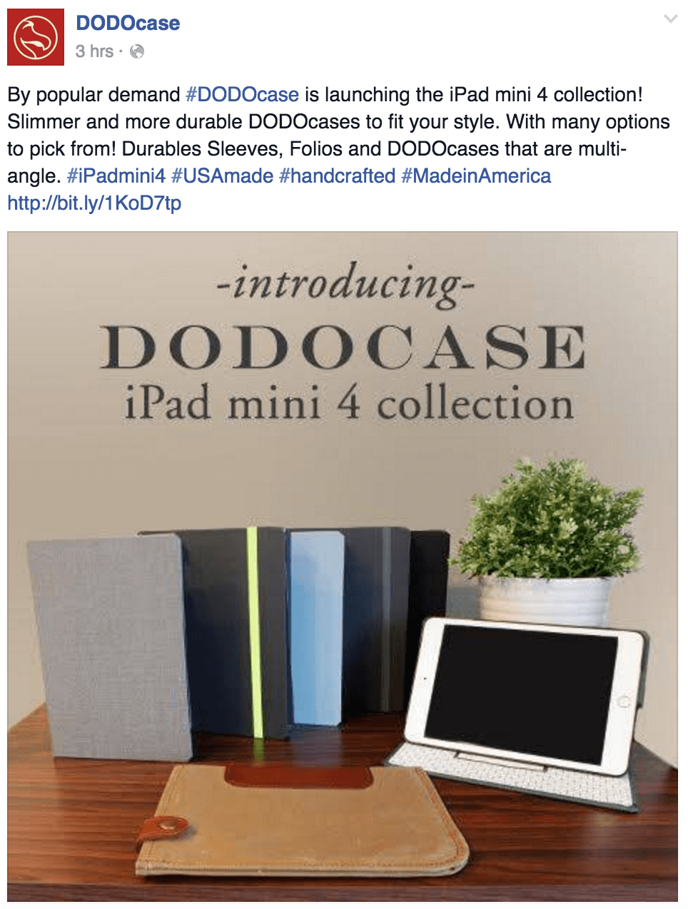 new dodocase product