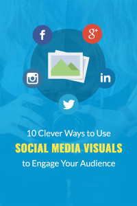 Social media visuals pinterest pin