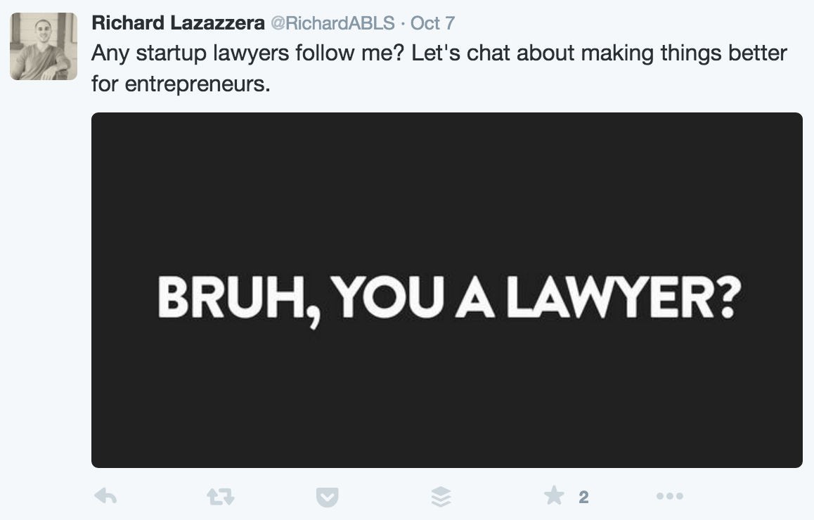 you a lawyer?