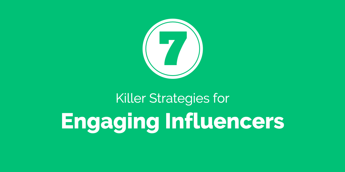 Engaging influencers