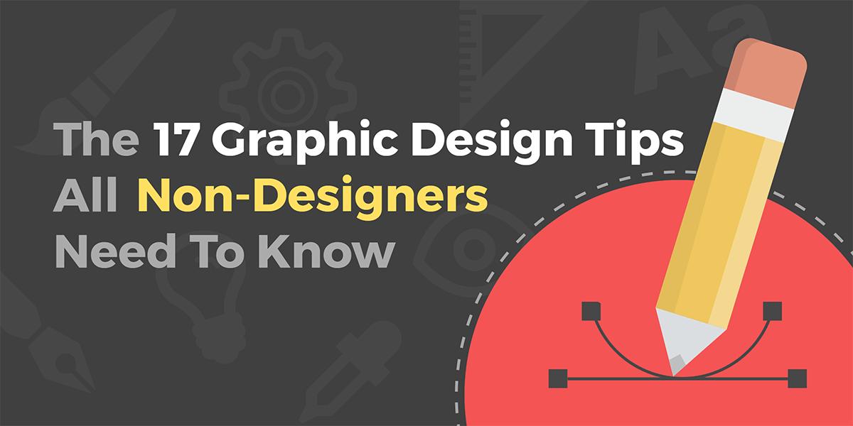 Graphic design tips for non-designers