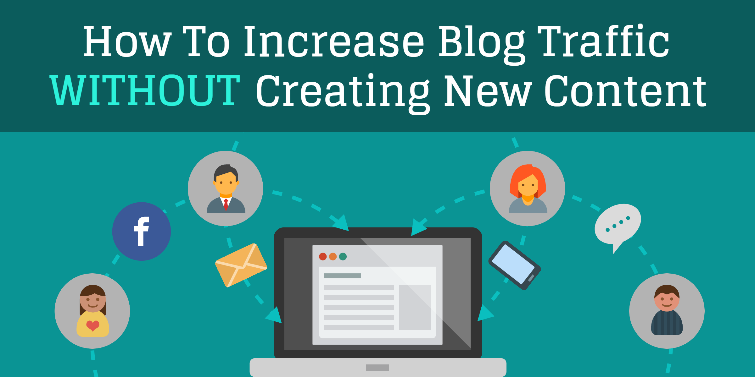 Increase blog traffic without creating new content