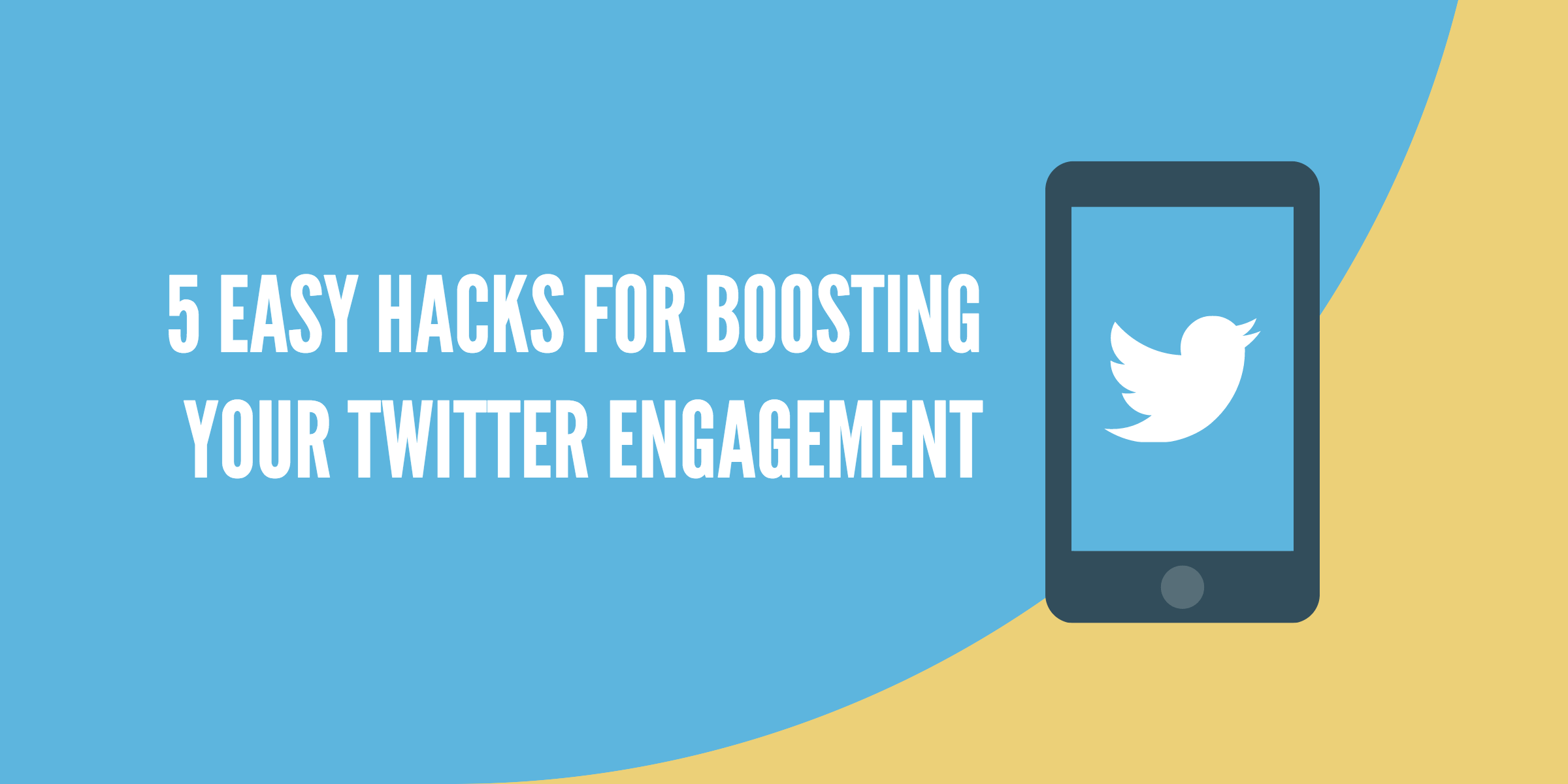 Boosting twitter engagement