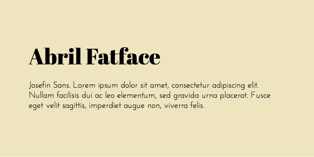 non serif fonts