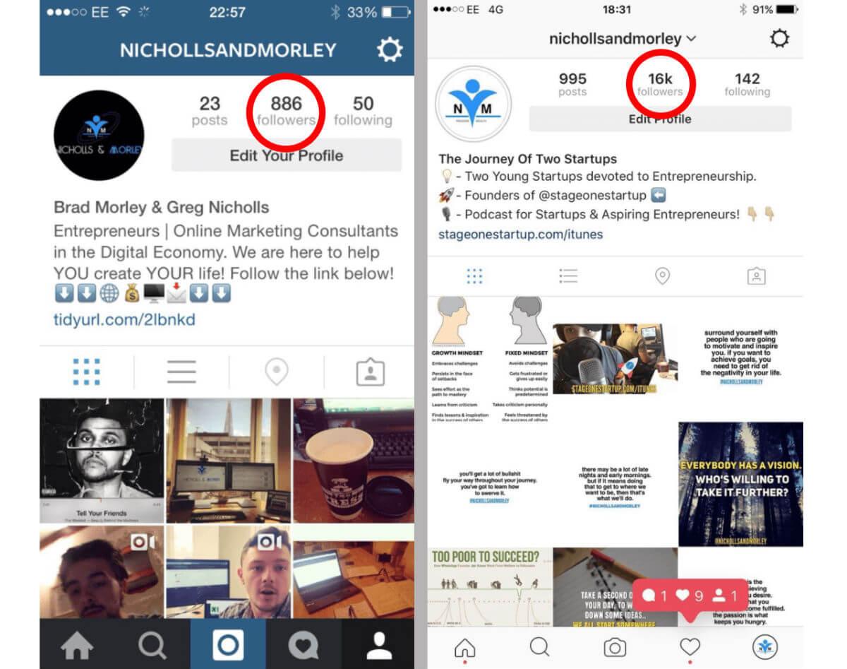 800 - 16K Instagram Snapshot