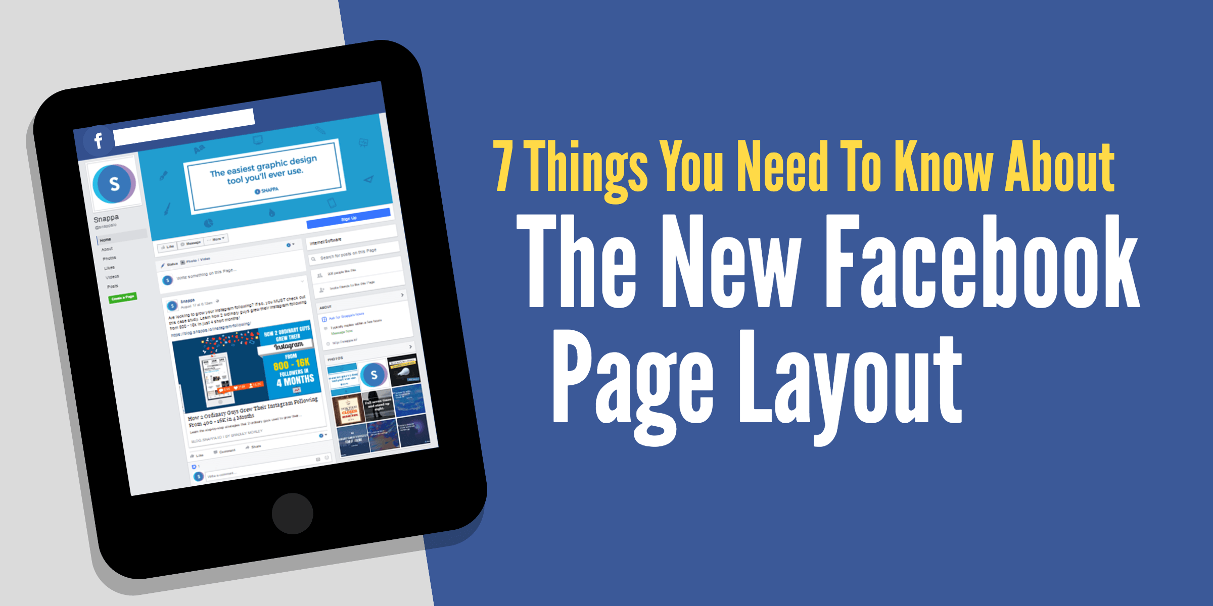 7 Things You Need To Know About The New Facebook Page