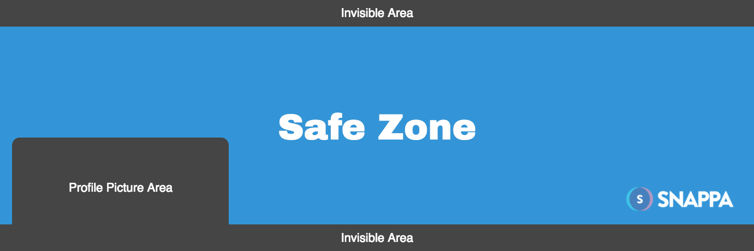 Twitter header safe zone