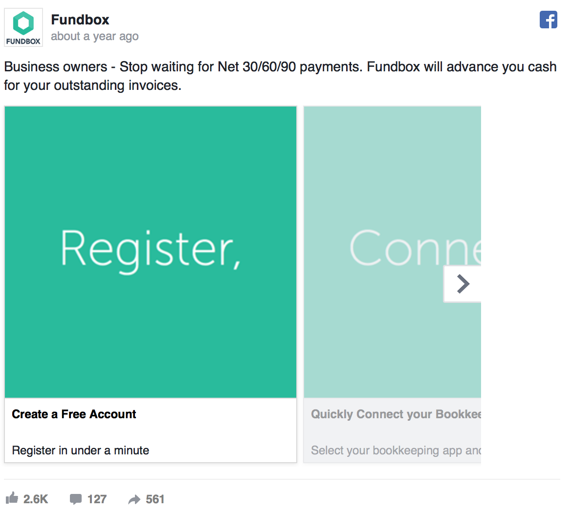 creative ways to use Facebook's carousel ads