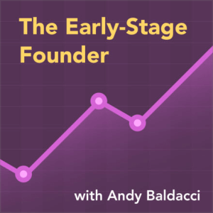 Early Stage Founder podcast cover