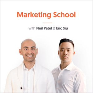 Marketing School podcast cover