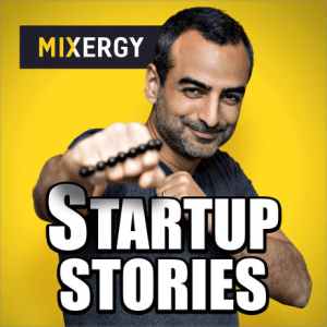 Mixergy podcast cover