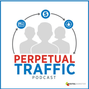 Perpetual traffic podcast cover