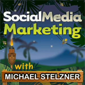 Social media marketing podcast cover