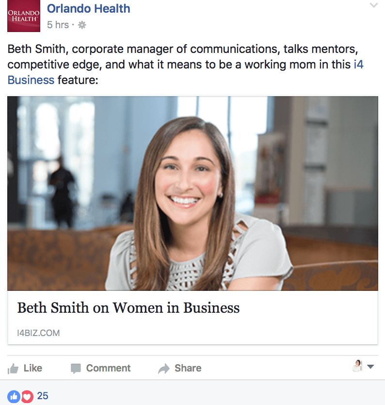 Post about business stories