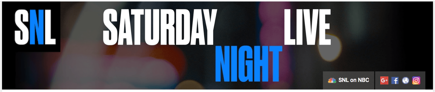 SNL youtube channel art