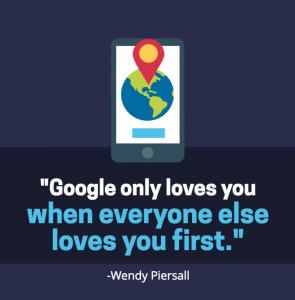 google only loves you when everyone else loves you first