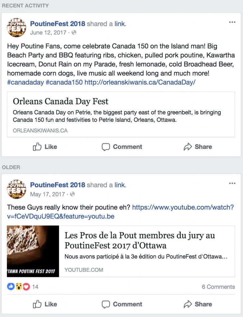 facebook event discussion