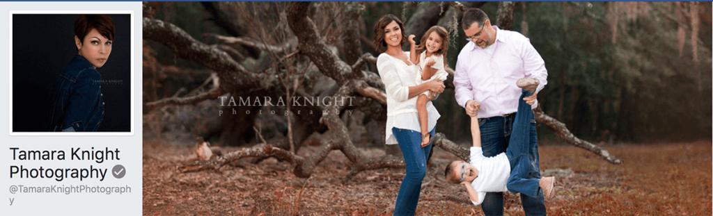 Tamara King Photography Facebook cover