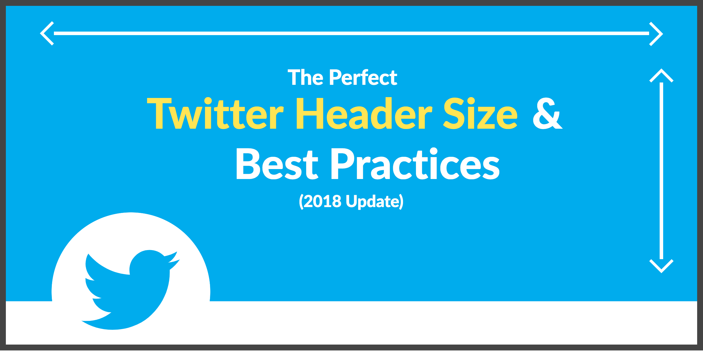 the perfect twitter header size best practices 2018 update