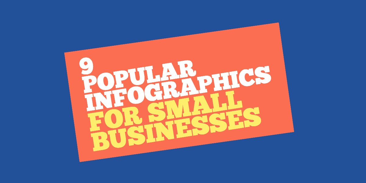 popular infographic templates for small businesses