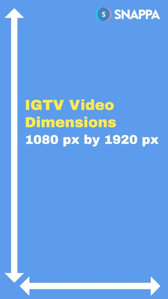 IGTV video size & dimensions