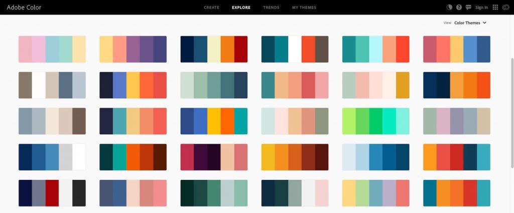 adobe color palette generator