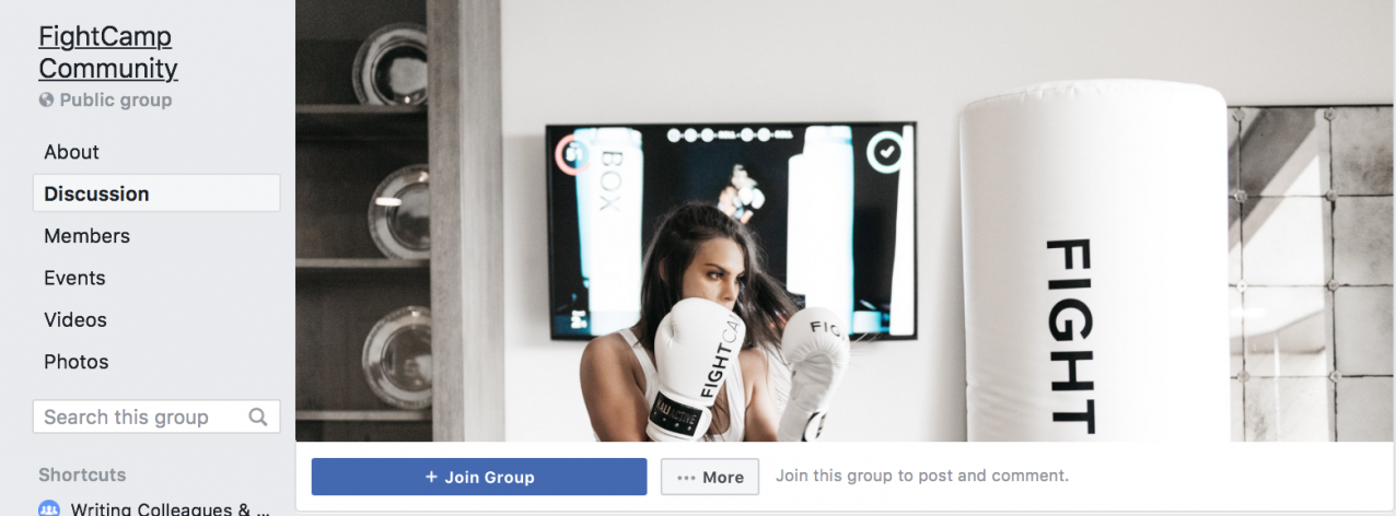 fightcamp facebook cover image
