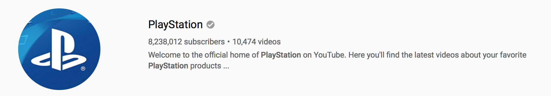 playstation youtube profile photo