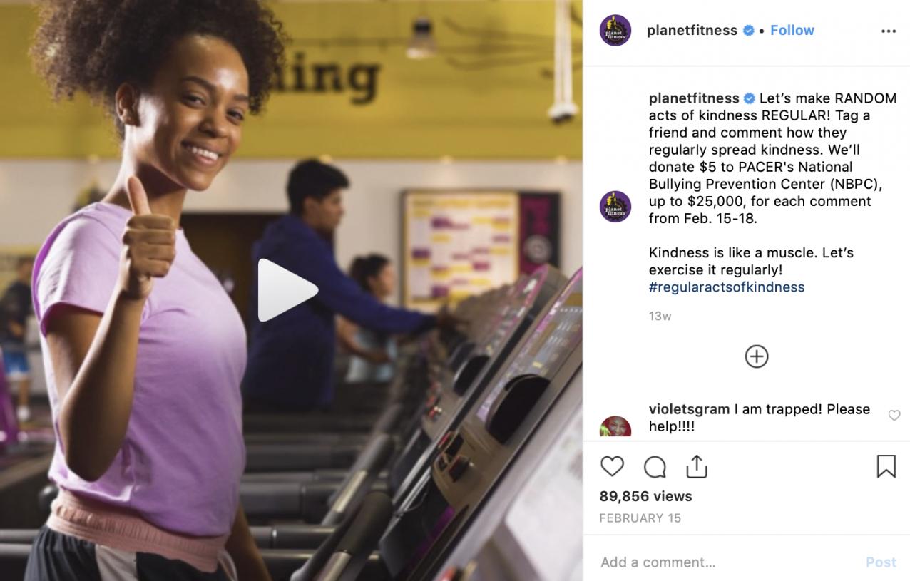 social media branding on Instagram