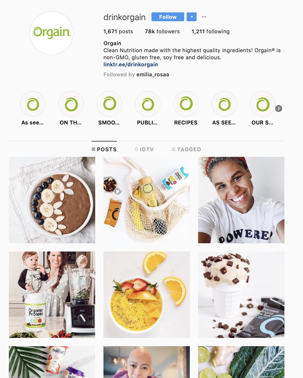 brand colors for social media branding