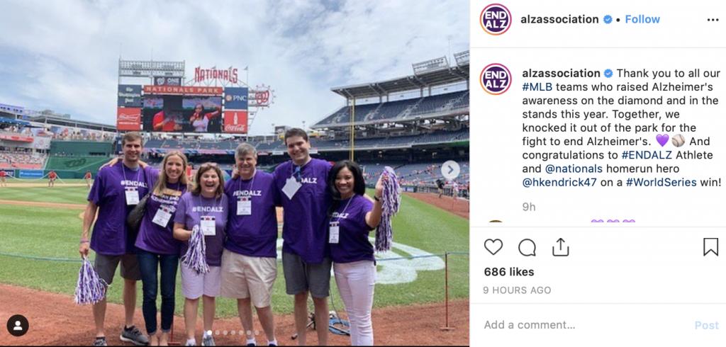 nonprofit social media instagram