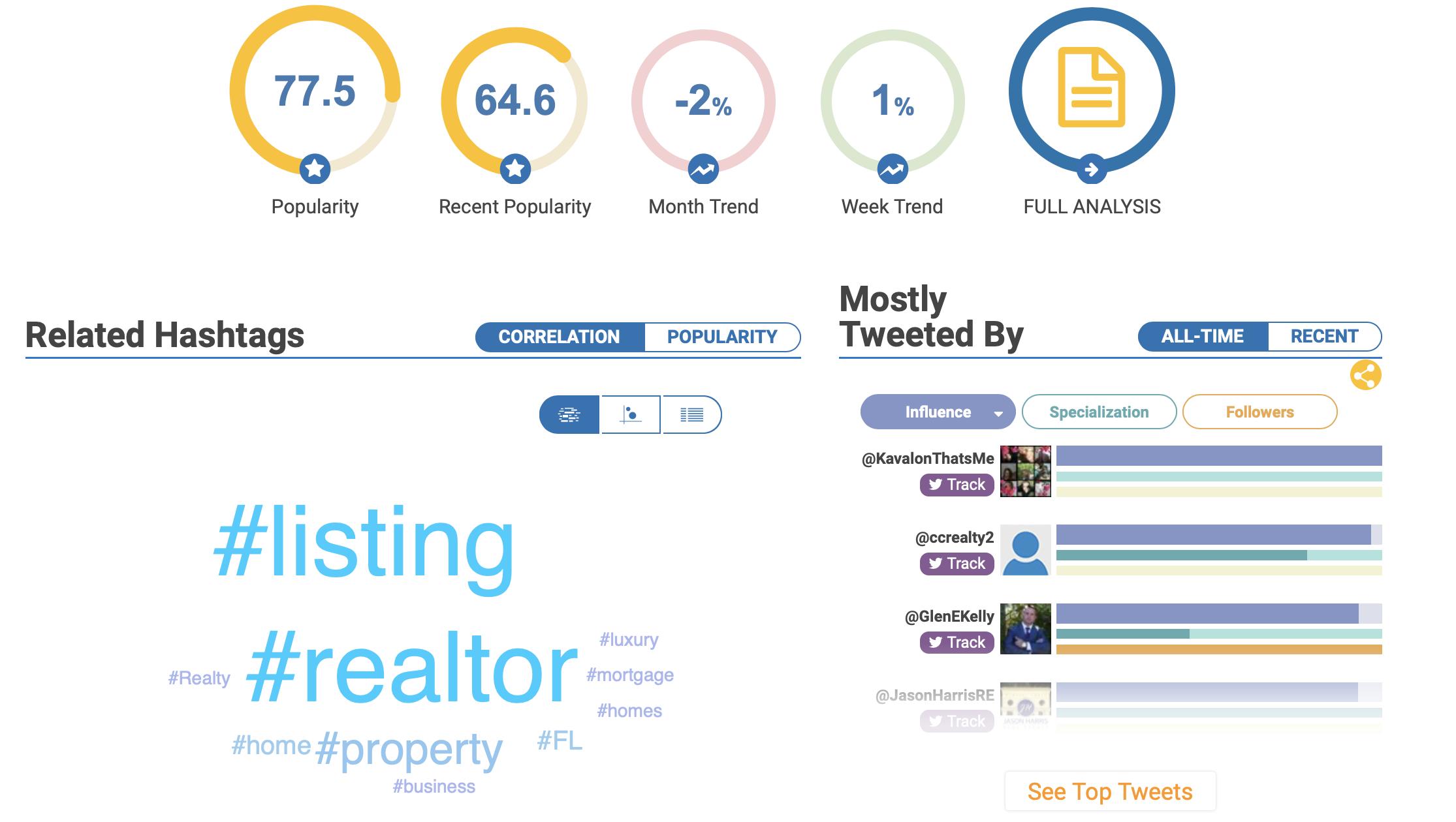 real estate social media hashtag generator