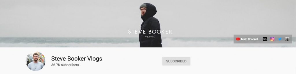 Steve Booker Lifestyle Vlogs