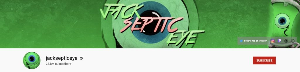 Jack Septic Eye Channel Art