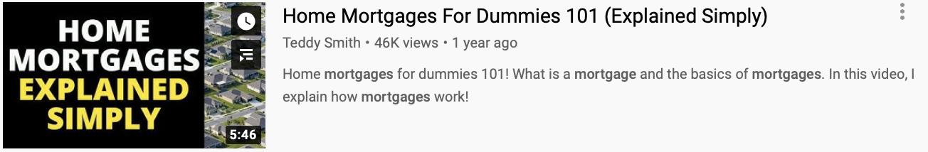 real estate video thumbnail