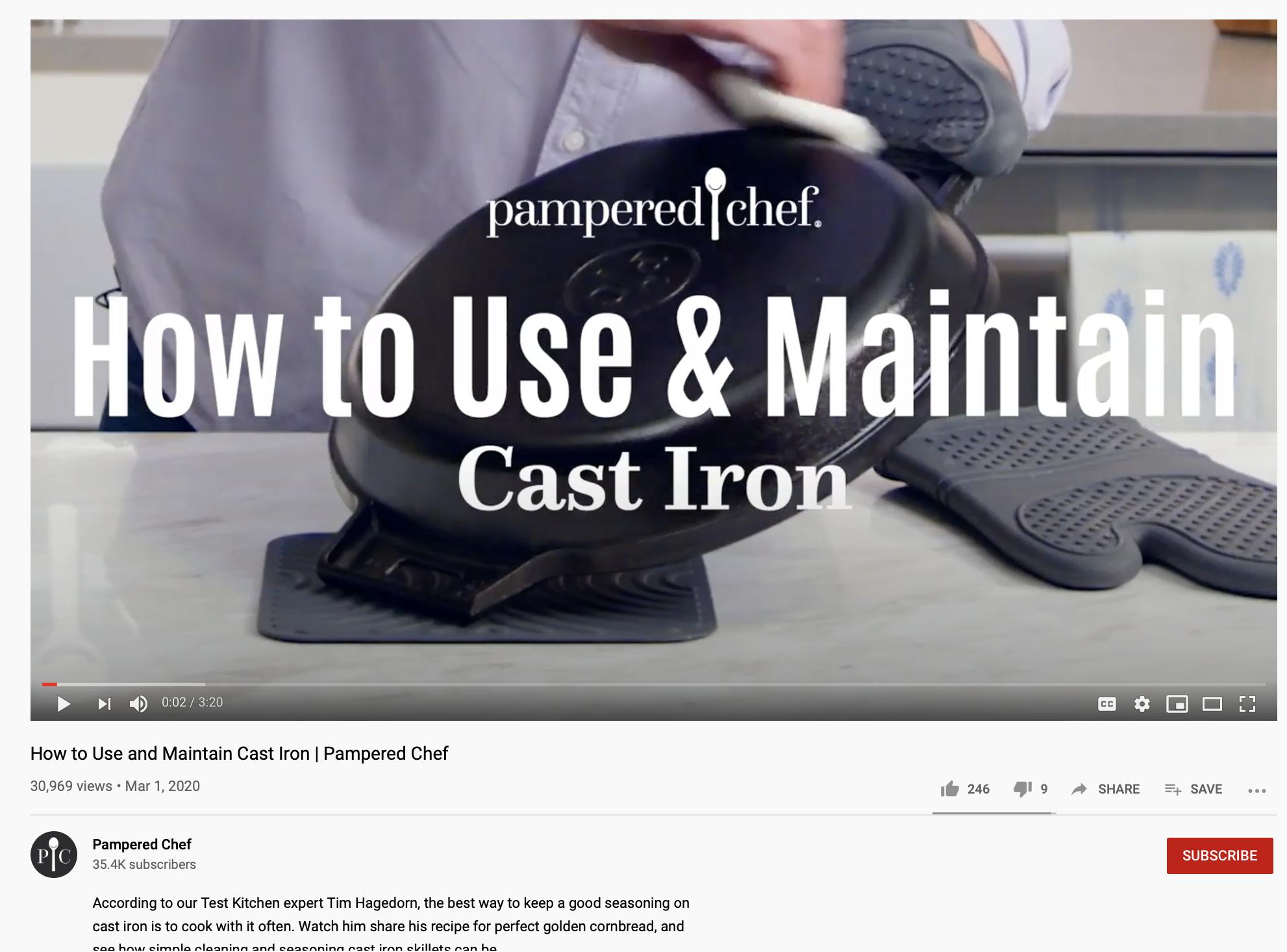 Care-focused YouTube video ideas