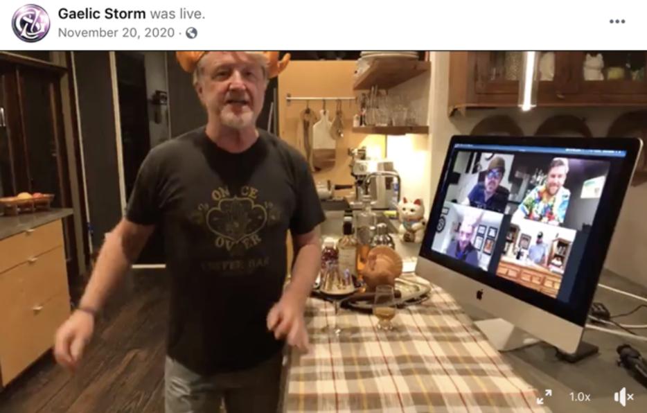 Facebook Live Example Post Idea